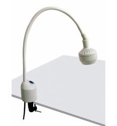 Lampa Badawczo-Zabiegowa FLH-2 LED, z mocowaniem do stolika (z dłuższą gęsią szyją, bezcieniowa)
