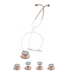 Stetoskop Internistyczno-Pediatryczny SPIRIT CK-SS601PF/C Copper Edition wszystko w jednym z białym drenem