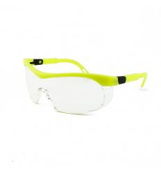 Medyczne Okulary Ochronne z żółtymi zausznikami