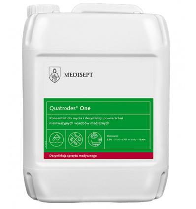 Płyn do dezynfekcji powierzchni - QUATRODES FORTE 5L