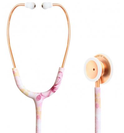 Stetoskop Internistyczny SPIRIT CK-S601PF Rose Gold Satin Butterfly Majestic Series Adult Dual Head