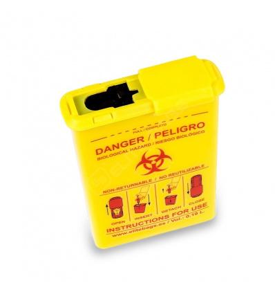 Kieszonkowy pojemnik na odpady medyczne conbio's EB09.001