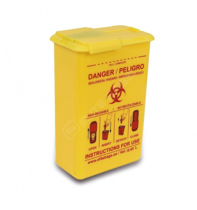 Pojemnik na odpady medyczne CONBIO'S XL EB09.040