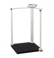 Elektroniczna waga platformowa z poręczą Charder MS2504 (III) funkcja BMI