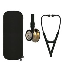 Stetoskop 3M Littmann Cardiology IV - BRASS FINISH BLACK z dedykowanym etui