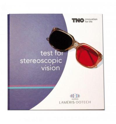 Test TNO z okularami Lameris