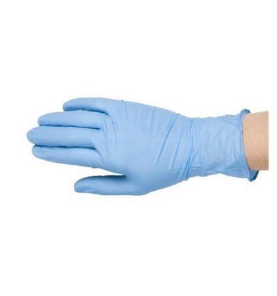Rękawice diagnostyczne nitrylowo-winylowe, niejałowe, bezpudrowe