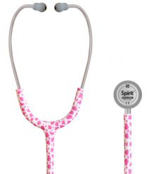 Stetoskop Pediatryczny SPIRIT CK-S606PF Metal Cheetah Delux Series Pediatric Dual Head Stethoscope z pływającą membraną