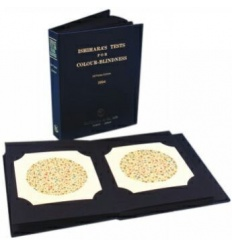 Tablica Ishihary - 38 tablic (Test Ishihary, Tablica Pseudoizochromatyczna)