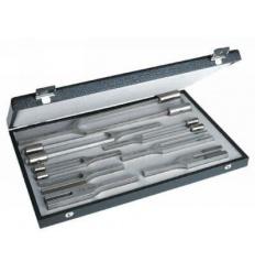 Zestaw I stroików laryngologicznych stalowych Riester (8 szt. 32 Hz - 4096 Hz + pudełko)