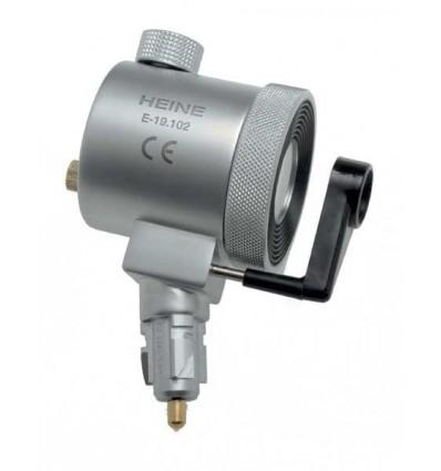 Główka optyczna Heine z oświetleniem proksymalnym 2,5 V
