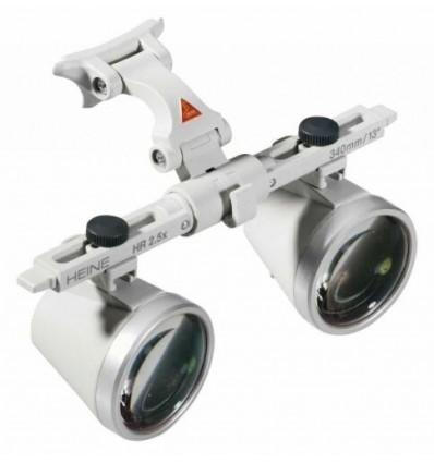 Lupa okularowa Heine HR 2,5 z i-View w walizeczce (lup, lupy)