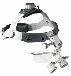 Zestaw B z lupami Heine HR 2,5x z systemem i-View (lup, lupy, lupa)