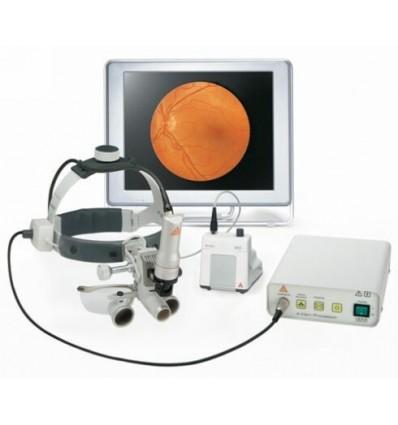 Lampa czołowa diodowa 3S LED na czepcu profesjonalnym, z zasilaniem EN 50, z kamerą z gwintem C i procesorem A-Cam