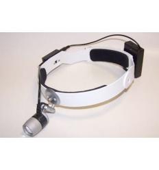 Lampa Czołowa Led FAROMED - zasilanie bateryjne 3xAA na opasce (lampa naczołowa)