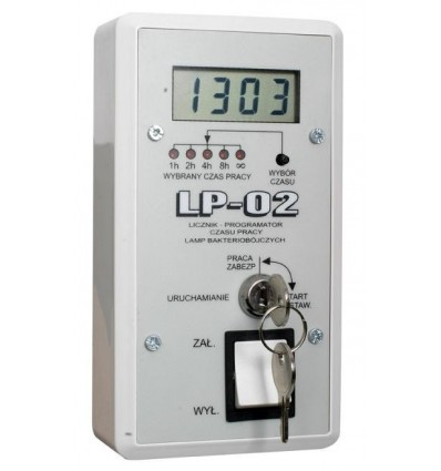 Licznik - programator LP-02 do Lamp Bakeriobójczych NBVE