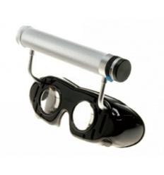Okulary Frenzla z rękojeścią bateryjną mocowaną na ramce