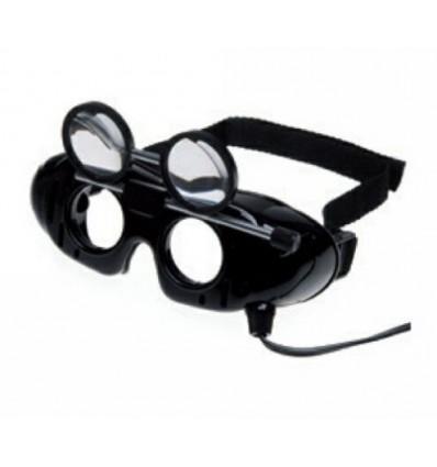 Okulary Frenzla z uchylnymi soczewkami