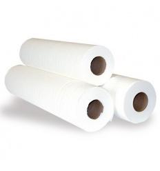 Jednorazowy podkład medyczny biały EXTRA 50 cm x 50 m (prześcieradło medyczne)