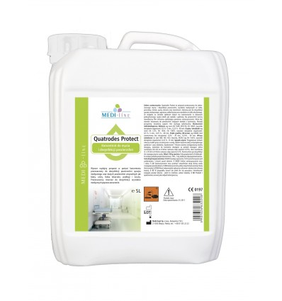Płyn do dezynfekcji powierzchni QUATRODES PROTECT 5 L