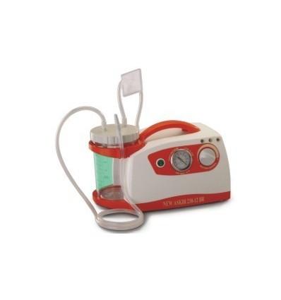 Ssak akumulatorowo-sieciowy NEW ASKIR 230V/12V, ssak szpitalny