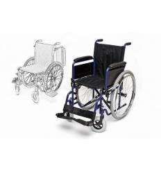Wózek inwalidzki stalowy H011