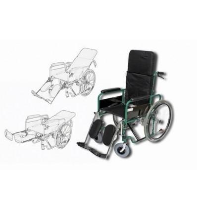 Wózek Inwalidzki stalowy stabilizujący plecy i głowę