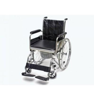 Wózek inwalidzki stalowy toaletowy