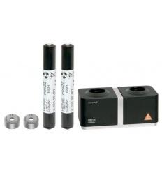 Ładowarka Heine miniNT z baterią akumulatorową z zaślepką umożliwiającą ładowanie do zestawów mini 3000