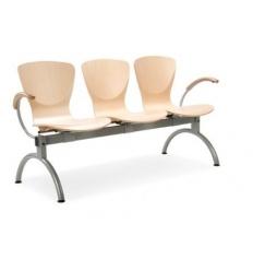 Krzesło do poczekalni BINGO ARMWOOD-3