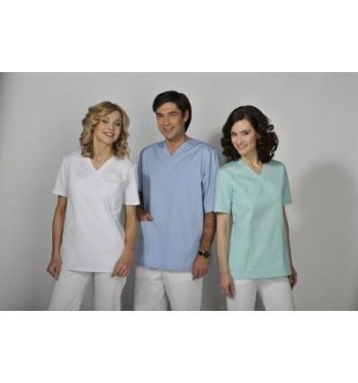 Bluza medyczna męska BL 56.1-0.0 rękaw krótki (odzież medyczna)