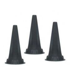 Wzierniki uszne jednorazowego użytku do otoskopów KaWe, Riester, Heine lub Luxamed - 100 szt.