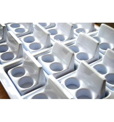 Taca do podawania leków na 32 kieliszki z miejscem na szczegółowy opis (tacka do leków)