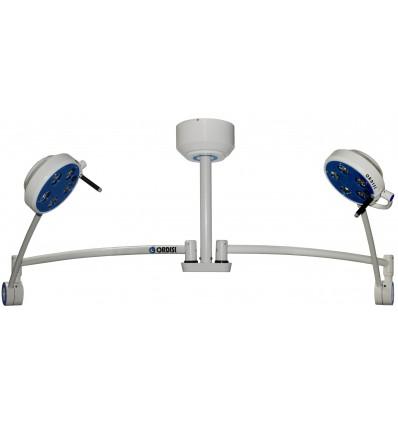 Lampa Bezcieniowa Zabiegowo-Diagnostyczna Dwuczaszowa LED sufitowa L21-25T