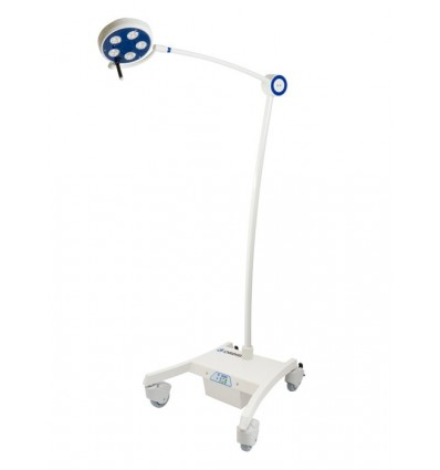 Lampa Bezcieniowa Zabiegowo-Diagnostyczna LED przejezdna z modułem podtrzymania napięcia L21-25RE