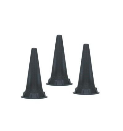 Wzierniki uszne jednorazowego użytku do otoskopów KaWe, Riester, Heine - 100 szt.