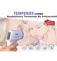Termometr bezdotykowy Temperies Combo