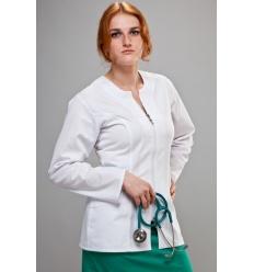 Bluza medyczna Ewa długi rękaw