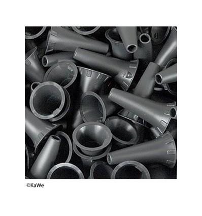 Wzierniki uszne jednorazowego użytku KaWe w miękkim opakowaniu - 100 szt.