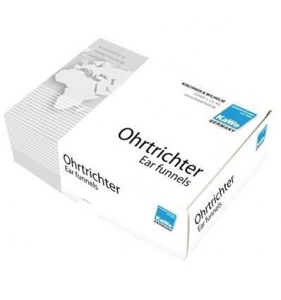 Wzierniki uszne jednorazowego użytku KaWe w pudełku - 100 szt.