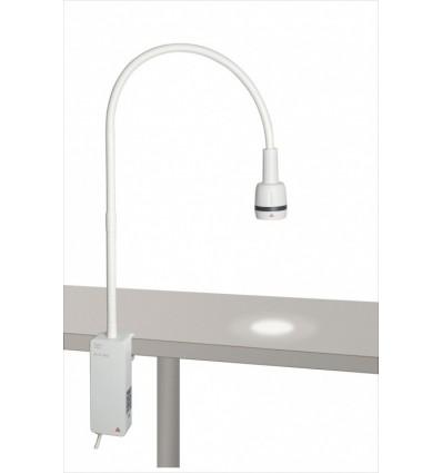 Lampa diagnostycznaHeine EL3 LED z mocowaniem do stolika