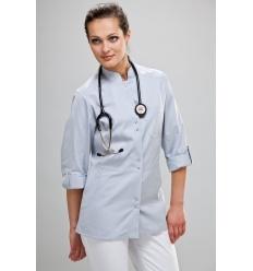 Bluza medyczna Lena długi rękaw