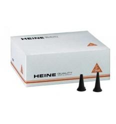 Wzierniki uszne jednorazowego użytku Heine 2,5mm i 4,0mm - 1000 szt. + dyspenser gratis
