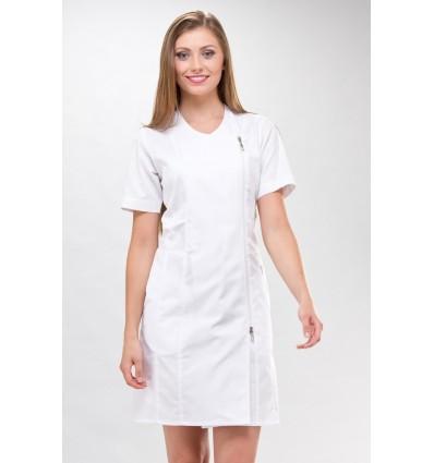 Sukienka medyczna Dana krótki rękaw