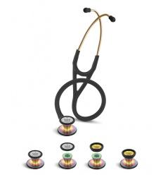 Stetoskop Kardiologiczny SPIRIT CK-SS747PF/R Rainbow Edition z dwutonową membraną Deluxelite Series Cardiology
