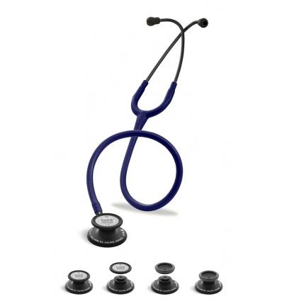 Stetoskop Internistyczno-Pediatryczny SPIRIT CK-SS601CPF Black Edition wszystko w jednym z atramentowym drenem