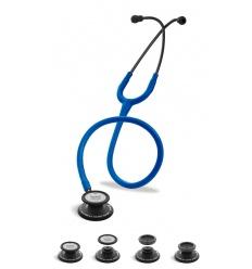Stetoskop Internistyczno-Pediatryczny SPIRIT CK-SS601CPF Black Edition wszystko w jednym z niebieskim drenem
