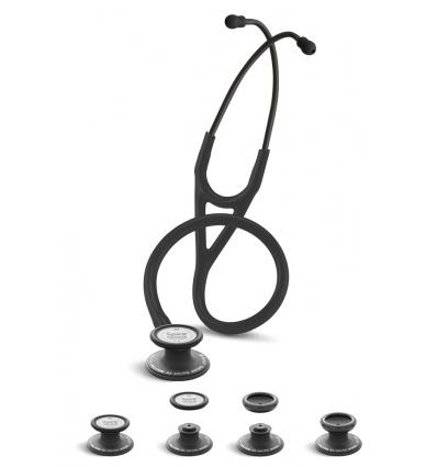 Stetoskop Kardiologiczno-Pediatryczny SPIRIT CK-SS757PF Black Edition z dwutonową membraną Deluxelite Series Cardiology