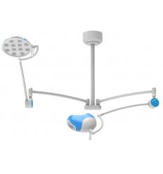 Lampa Bezcieniowa LED IGLUX Zabiegowo-Operacyjna LED Dwuczaszowa sufitowa