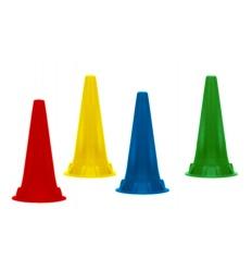 Wzierniki uszne jednorazowego użytku, kolorowe do otoskopów KaWe, Riester, Heine lub Luxamed - 100 szt